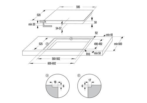 Встраиваемая электрическая панель Gorenje ECT646BCSC, фото 3