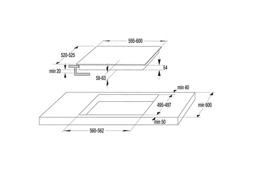 Встраиваемая индукционная панель Gorenje IT640BX, фото 5