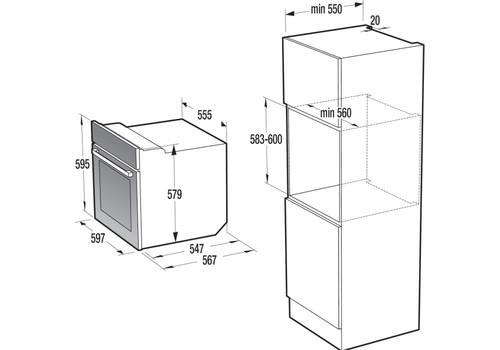 Электрический духовой шкаф Gorenje BO7531CLI, фото 6