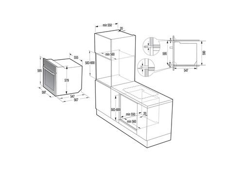 Электрический духовой шкаф Gorenje BO737E20BG-M, фото 3