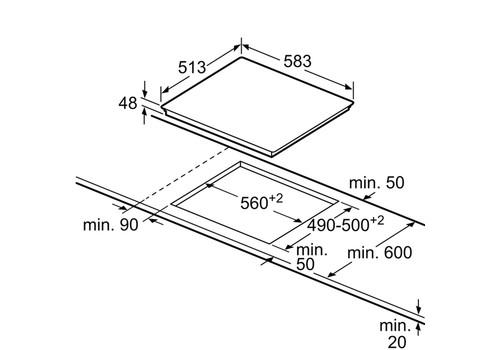 Встраиваемая электрическая панель Neff T13B41N2, фото 3