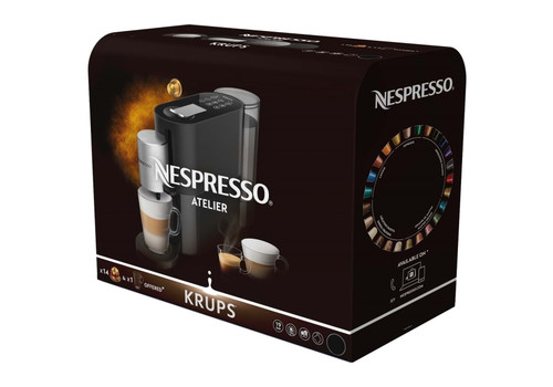 Кофемашина капсульного типа Krups Nespresso XN890810, фото 11