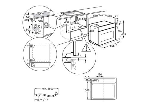 Компактный духовой шкаф AEG KME768080M, фото 3