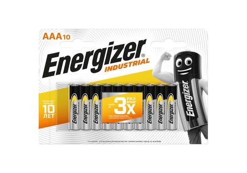 Батарея Energizer Industrial AAA-LR03 10шт, фото 1