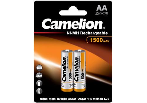 Аккумулятор Camelion AA 1500mAh Ni-Mh BL-2, фото 1
