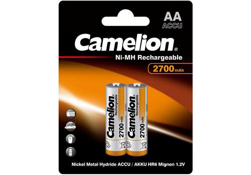 Аккумулятор Camelion AA 2700mAh Ni-Mh BL-2, фото 1