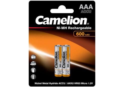 Аккумулятор Camelion AAA 600mAh Ni-Mh BL-2, фото 1