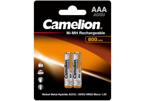 Аккумулятор Camelion AAA 800mAh Ni-Mh BL-2, фото 1