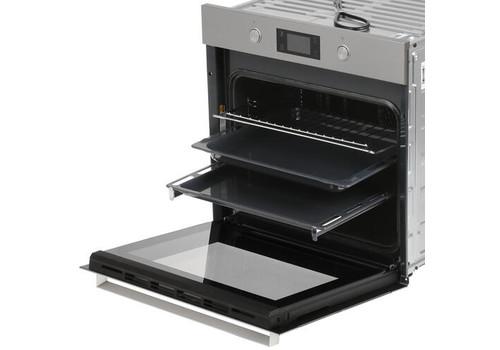 Электрический духовой шкаф Hotpoint-Ariston 7O 5FA 841 JH IX HA серебристый, фото 2