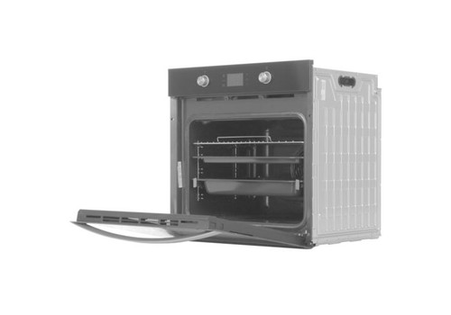 Электрический духовой шкаф Indesit IFW 4841 JH BL черный, фото 2