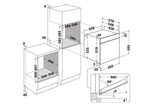 Электрический духовой шкаф Hotpoint-Ariston FA5S 841 JBLG HA, фото 3
