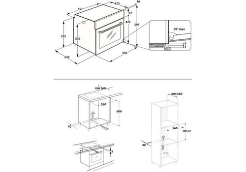 Электрический духовой шкаф Hotpoint-Ariston FA5 844 JH IX HA, фото 3