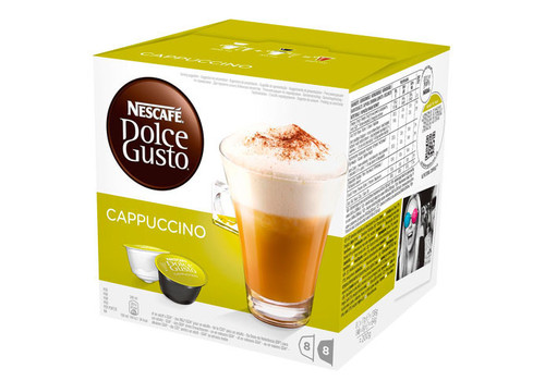 Капсулы NESCAFE Dolce Gusto (Дольче Густо) Cappuccino, фото 1