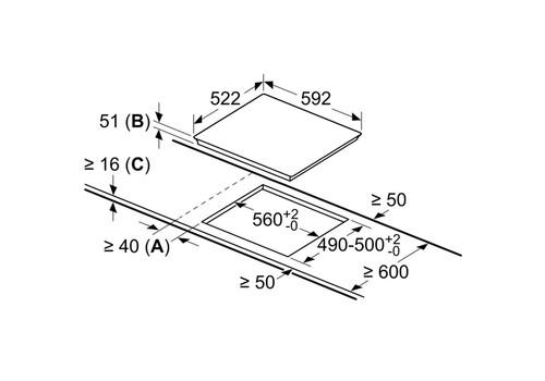Встраиваемая индукционная панель Bosch Serie 6 PUE651FB5E, фото 3