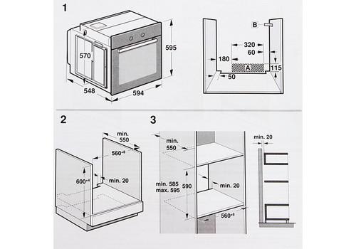 Электрический духовой шкаф Siemens iQ500 HB537JER0R, фото 2