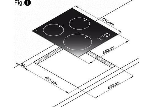 Индукционная варочная панель Zigmund & Shtain CIS 029.45 WX, фото 3
