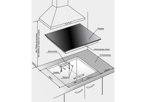 Индукционная варочная поверхность Gefest ПВИ 4322, фото 3