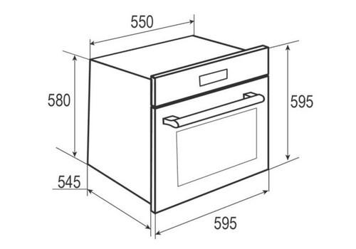 Электрический духовой шкаф Zigmund & Shtain EN 117.921 W белый, фото 2