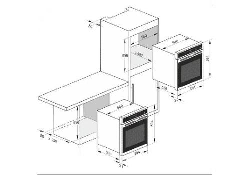 Независимая электрическая духовка Kaiser EH 6424 GrBE Eco, фото 4